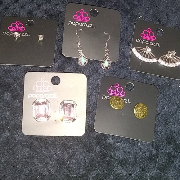 New 5 pairs of earrings lot